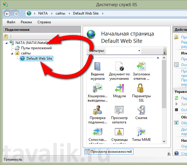 Iis для Windows 8.1 - фото 9