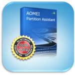 Увеличение системного раздела диска без потери данных бесплатной программой AOMEI Partition Assistant
